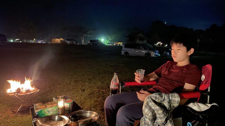 男同士でキャンプ【メスティンで旬を食す】